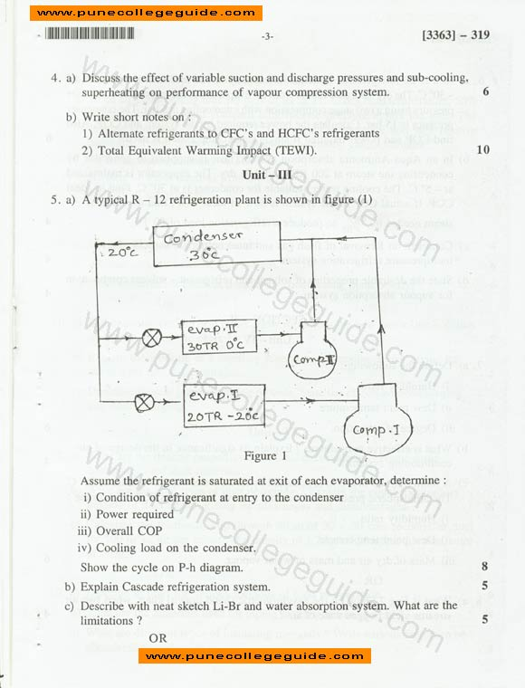 Refrigeration and air conditioning research papers